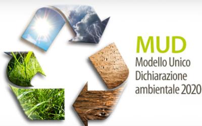 Tracciabilità rifiuti: MUD 2020 da presentare entro il 30 Aprile